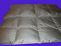Одеяло пуховое 220х240 70% пуха кассетное IGLEN