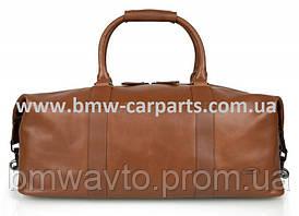 Кожаная дорожная сумка Land Rover Weekender Bag, Leather, Brown