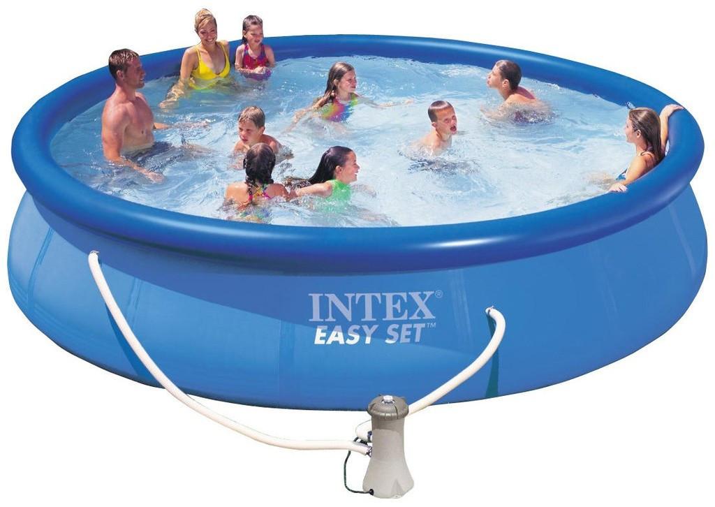 Басейн Intex 28132 (56422) басейн+насос-фільтр 366*76см