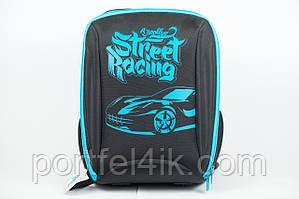 Рюкзак шкільний каркасний Kite Brooklyn racer K18-732M-1