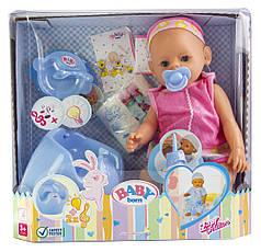 Кукла Baby Born (Бейби Борн) с аксессуарами, музыкальный горшок (К155)