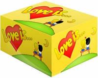 Блок жвачка Love is... Кокос-Ананас, Блок жуйка Love is... Кокос-Ананас
