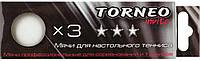 Мячи для настольного Тенниса Torneo, 3 Шт. (Ti-Bwt1000)