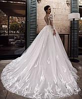 Свадебное платье веточки