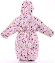 Детский комбинезон трансформер для новорожденных зимний (белый Винни Пух), фото 3