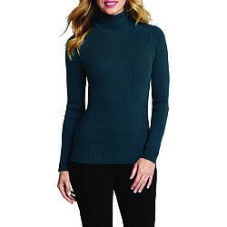 Пуловер Eddie Bauer Womens Medina Turtleneck Sweater NORDIC XL Зеленый 1756NOR-XL, КОД: 305904