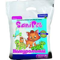 Наполнитель универсальный SaniPet, для домашних животных, натуральный, 5 кг, PR740415