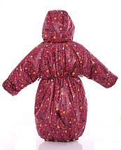 Детский комбинезон трансформер зимний (красный Энгри), фото 2