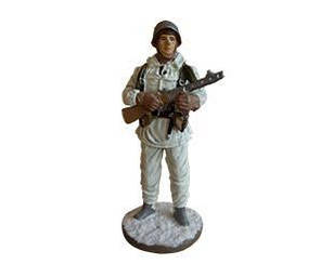 Фігурка олов'яна (Eaglemoss) Рядовий стрілецьких частин РСЧА №19 (1:32)