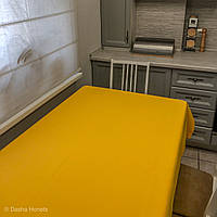 Скатерть из водоотталкивающей ткани ELBRUS польского производства, цвет желтый