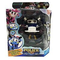 """Трансформер """"Робо Police car"""" JT3100 Полицейская машина, синяя"""