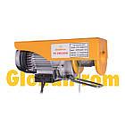 Лебедка электрическая 500/1000кг 220 В, лебедка электрическая РА, электрическая лебедка РА, таль РА, фото 2