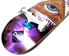 СкейтБорд деревянный от Fish Skateboard Mason, фото 3
