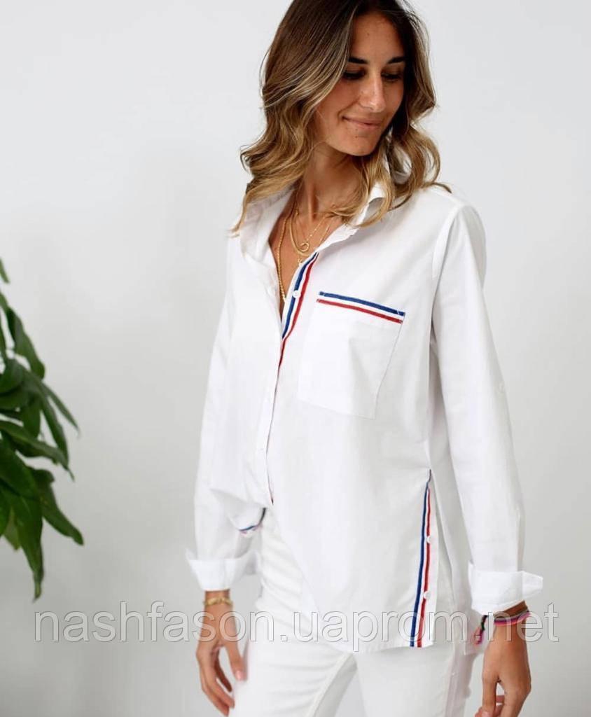 Стильная женская рубашка, Турция, 2101