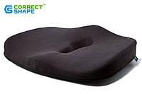 Ортопедическая подушка для сидения - Max Comfort, ТМ Correct Shape. Подушка от геморроя, простатита, подагры, фото 1