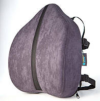 Подушка под поясницу - Сorrect Line Max, ТМ Correct Shape, цвет черный, синий, фото 1
