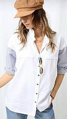 Стильная женская рубашка, Турция, 2102