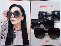 Женские солнцезащитные очки Yves Saint Laurent ,цвет чёрный
