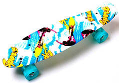 "Penny Board ""Sport surfing"" Светящиеся колеса."