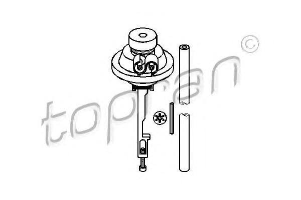 Пул-даун Audi/VW (87>) Topran 100 577
