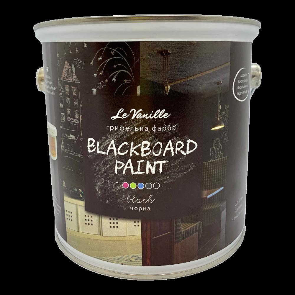 Грифельная краска LeVanille 2,5 л. черная
