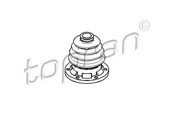 Пыльник наруж. VW T-2 /внутр. голый