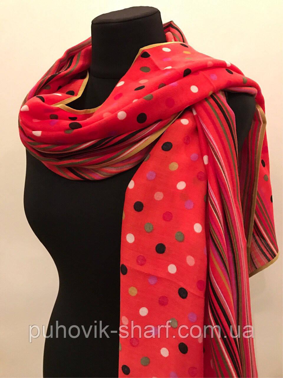 a6288f907885 Красивый шарф в горох