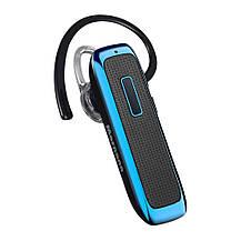 Беспроводная Bluetooth-гарнитура с микрофоном Hands-Free голубая, фото 2