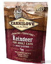 Carnilove Cat Raindeer Energy & Outdoor 0,4 kg Сухой корм для активных котов