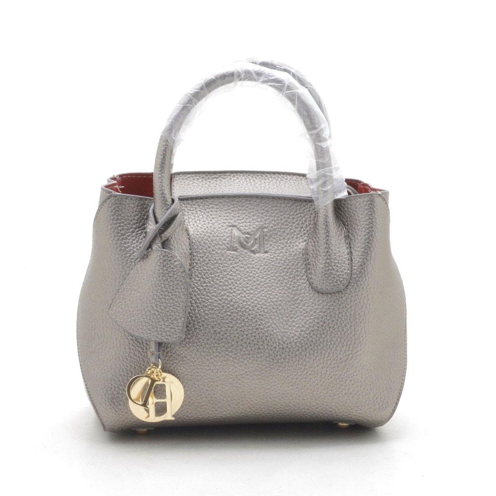 27cec58b958d Сумка кроссбоди 2в1 с косметичкой серебристая - Kit Bag - женские сумки,  кошельки и клатчи