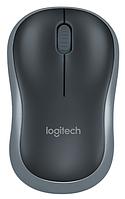Мышь Logitech Wireless Mouse M185 Swift Grey