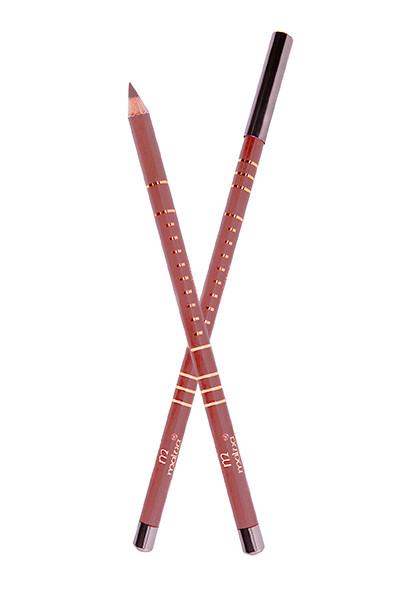 Карандаш деревянный для губ Malva №20 Nature