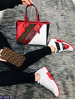 Обувь женская Fendi Турция Эко-кожа. Высокое качество, износостойкая подошва. Под заказ 5-10 дней