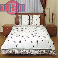 """Полуторное постельное белье ТЕП 516 """"Бутон красной розы"""""""