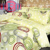 """Семейный комплект постельного белья ТЕП 606 """"Круги разноцветные"""", фото 1"""