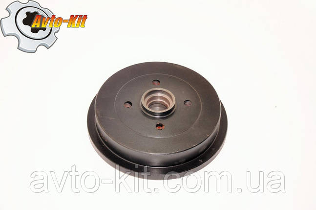 Барабан тормозной задний (под 2-й подш.37мм без abs ) Geely CK , фото 2