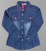 Джинсовая рубашка для девочек Setty Koop оптом, 8-16 лет.