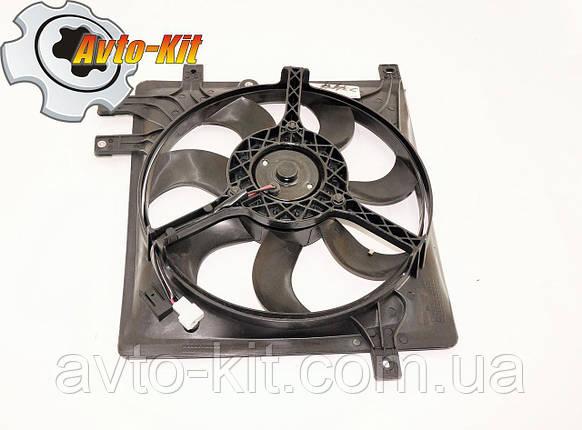Вентилятор охлаждения L (5 креплений) Geely CK/MK, фото 2