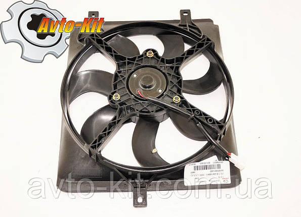 Вентилятор охлаждения L (старый тип)  Geely CK/MK, фото 2