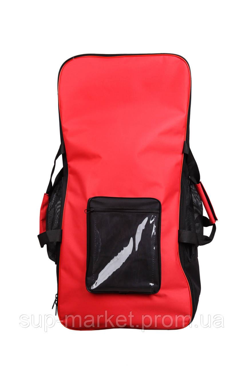 Cумка-рюкзак для SUP доски Gladiator Transportation Bag, black/red