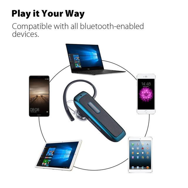 Беспроводная Bluetooth-гарнитура с микрофоном Hands-Free