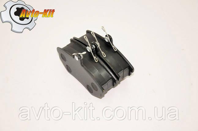 Колодки тормозные передние без ABS (4 шт) Geely CK, фото 2