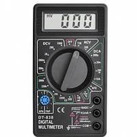 Мультиметр DT 838, Измерительный прибор,  Цифровой мультиметр, Тестер вольтметр амперметр, Измеритель тока