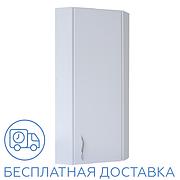 Шкаф навесной угловой для ванной комнаты Базис 30-01 правый ПИК