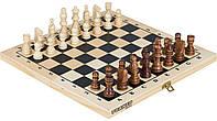 Настольная игра 2 В 1: Шахматы, Шашки Torneo (Trn-Sh1)