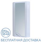 Зеркальный шкаф угловой для ванной комнаты Базис 30-011 правый ПИК