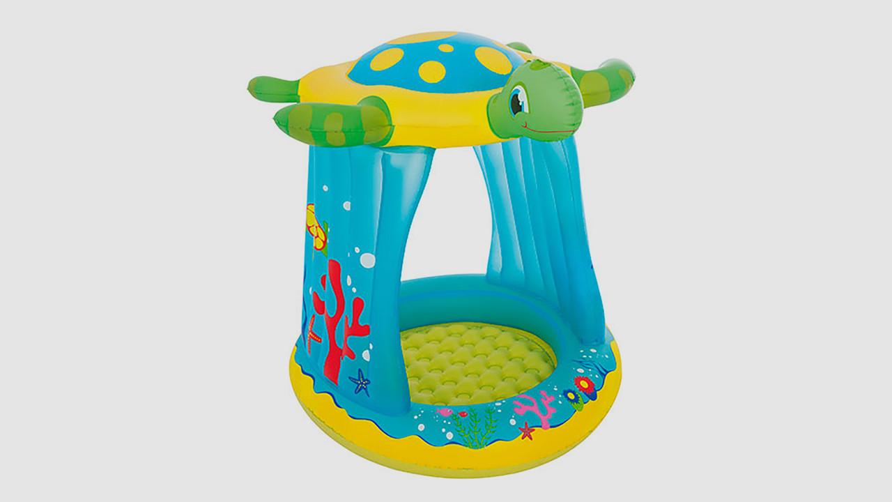Игровой центр BESTWAY - черепаха с навесом. Для детей возрастом от 2 лет