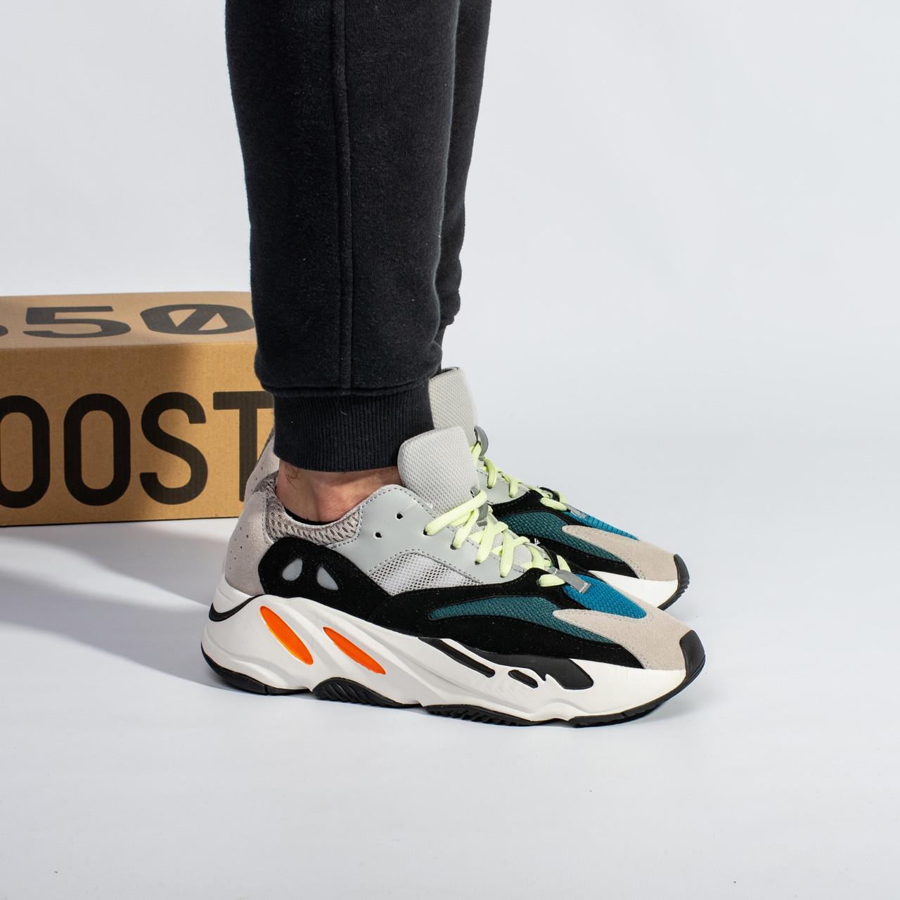 """Мужские кроссовки в стиле Adidas Yeezy Boost 700 """"Wave Runner"""" (41, 42, 43, 44, 45 размеры)"""