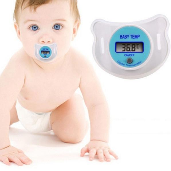 Пустушка-термометр для вимірювання температури, соска для дітей з lcd-дисплей