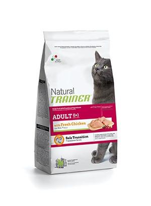 Trainer Natural Adult Chicken (Трейнер) - сухой корм с курицей для взрослых кошек 1,5 кг